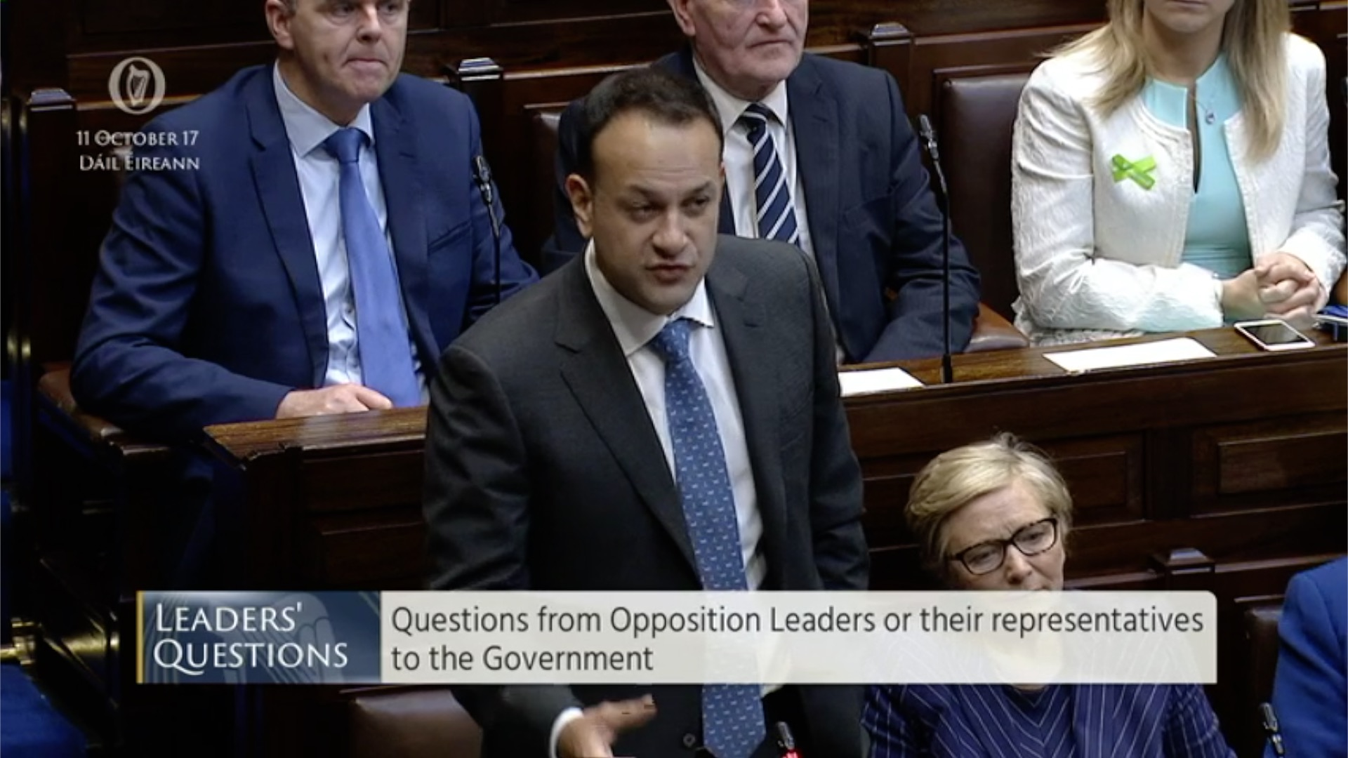 Leaders' Questions 11th October 2017