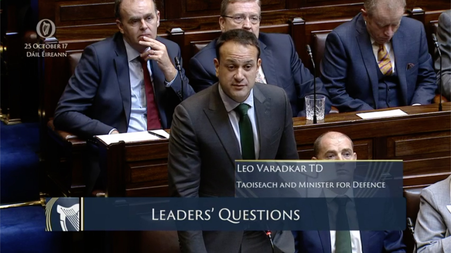 Leaders' Questions 25th October 2017