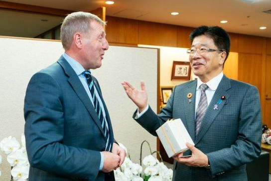 Creed Meets with Japanese Minister for Health, Labour and Welfare