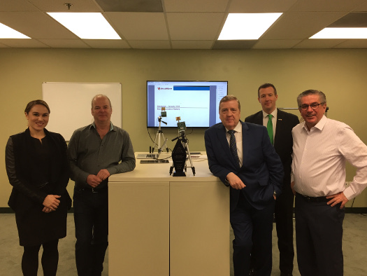 Minister Pat Breen highlights Ireland's data protection environment and commitment to the EU during US visit