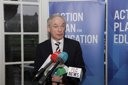 Minister for Education and Skills, Richard Bruton, to publish evaluation of the Post Leaving Certificate Programme