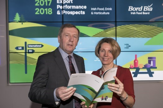 Launch of Bord Bia's Export Performance and Prospects 2017-2018 report