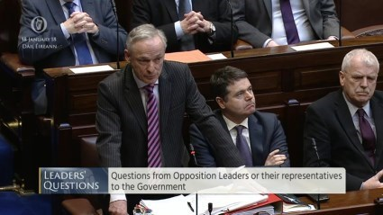 Leaders' Questions 18th January 2018