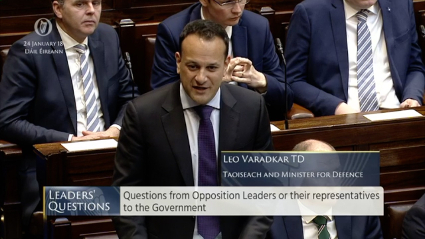 Leaders' Questions 24th January 2018