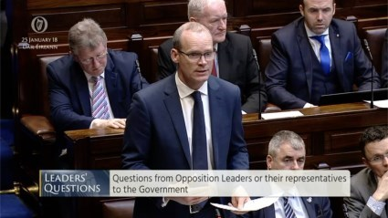 Leaders' Questions 25th January 2018