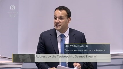 Address by the Taoiseach to Seanad Eireann 1st February 2018