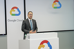 Taoiseach Opens Google Cloud Building