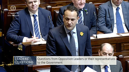 Leader's Questions 21st March 2018