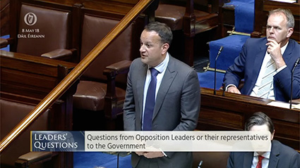 Leader's Questions 8th May 2018