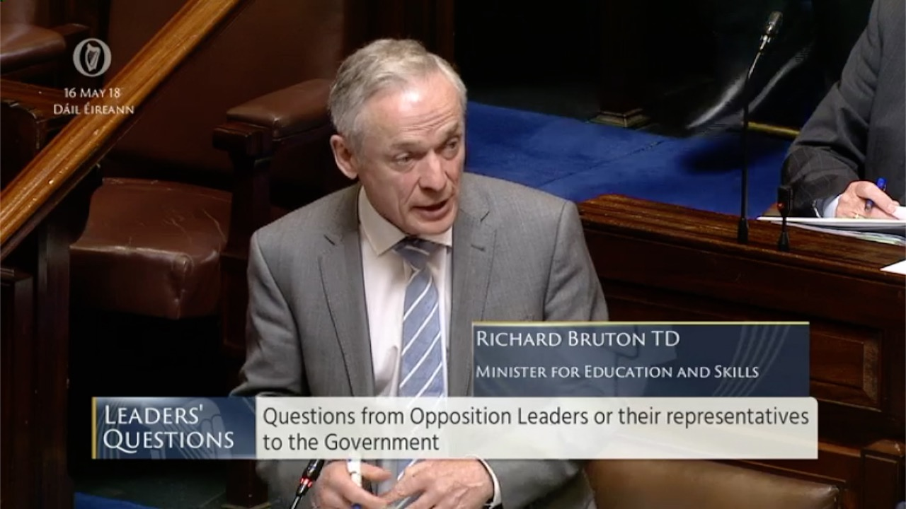 Leaders' Questions 16th May 2018