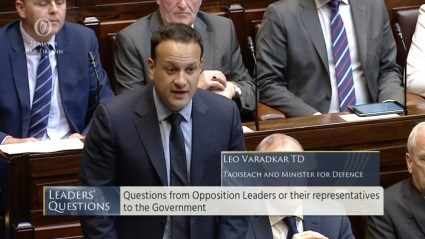 Leaders' Questions 22nd May 2018