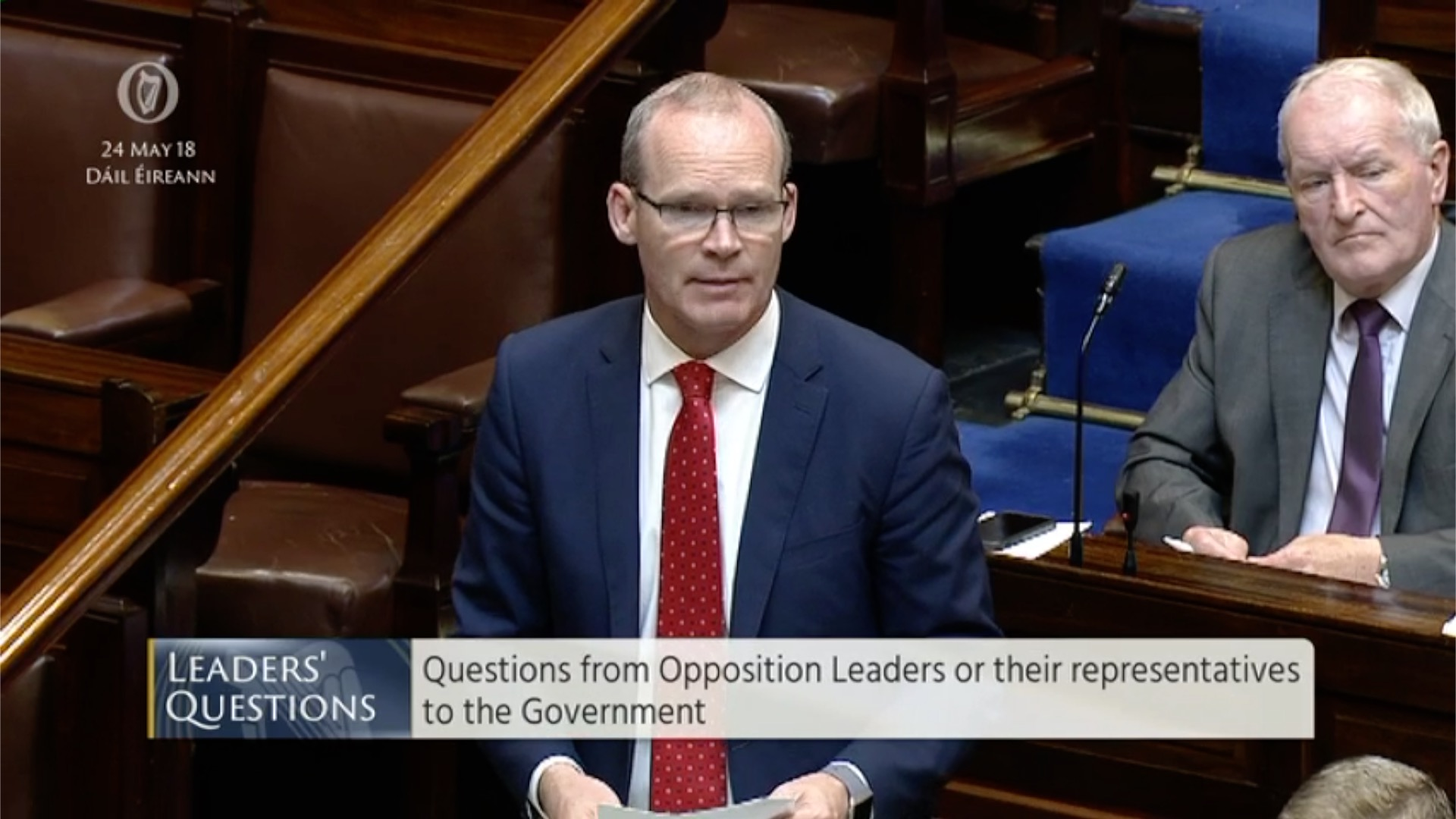Leaders' Questions 24th May 2018