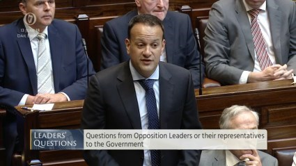 Leaders' Questions 13th June 2018