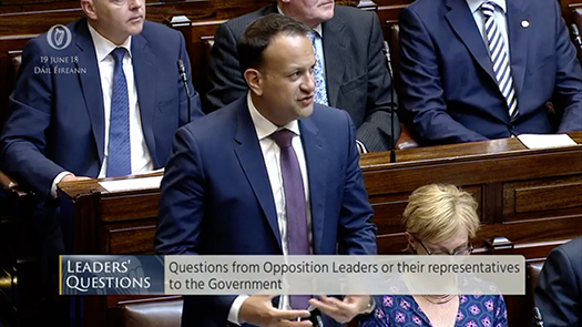 Leaders' Questions 19th June 2018