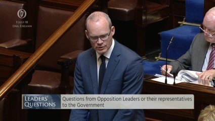 Leaders' Questions 3rd July 2018