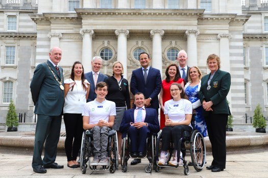 An Taoiseach Officially Launches Dublin 2018