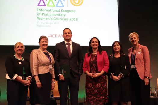 An Taoiseach Attends the International Congress of Women's Caucuses