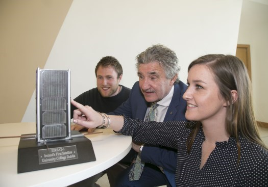 Ireland's First Ever Satellite Moves One Step Closer to Launch into Space