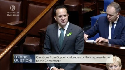 Leaders' Questions 10th October 2018