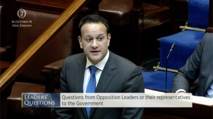 Leaders' Questions 16th October 2018