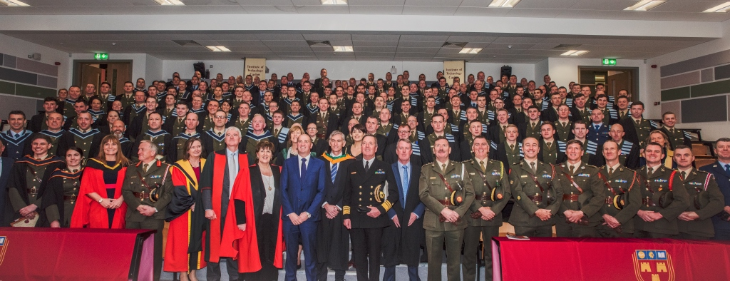 Minister Kehoe attends the Conferring of Academic Awards on Defence Forces personnel