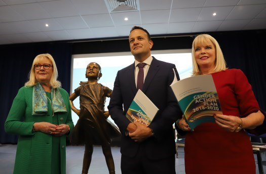 An Taoiseach Leo Varadkar and Minister Mitchell O'Connor launch Gender Equality Action Plan for Higher Education Institutions 2018-2020