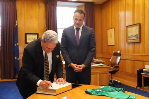 An Taoiseach met with Deputy Prime Minister of New Zealand