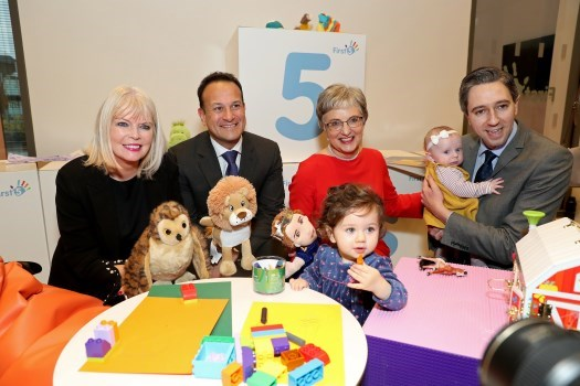 Government launches First 5 Strategy for Babies, Young Children and their Families