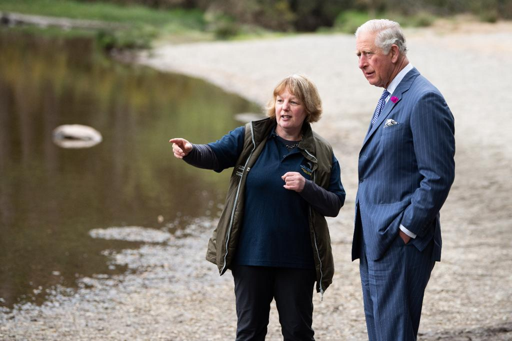 His Royal Highness, The Prince of Wales, visits Wicklow Mountains National Park during an official visit to Ireland