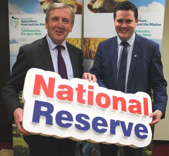 Minister Creed Announces Funding for the 2017 National Reserve