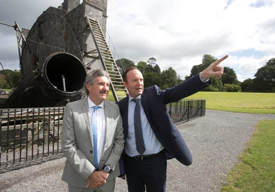 Minister Halligan Switches on World Leading Radio Telescope: I-LOFAR