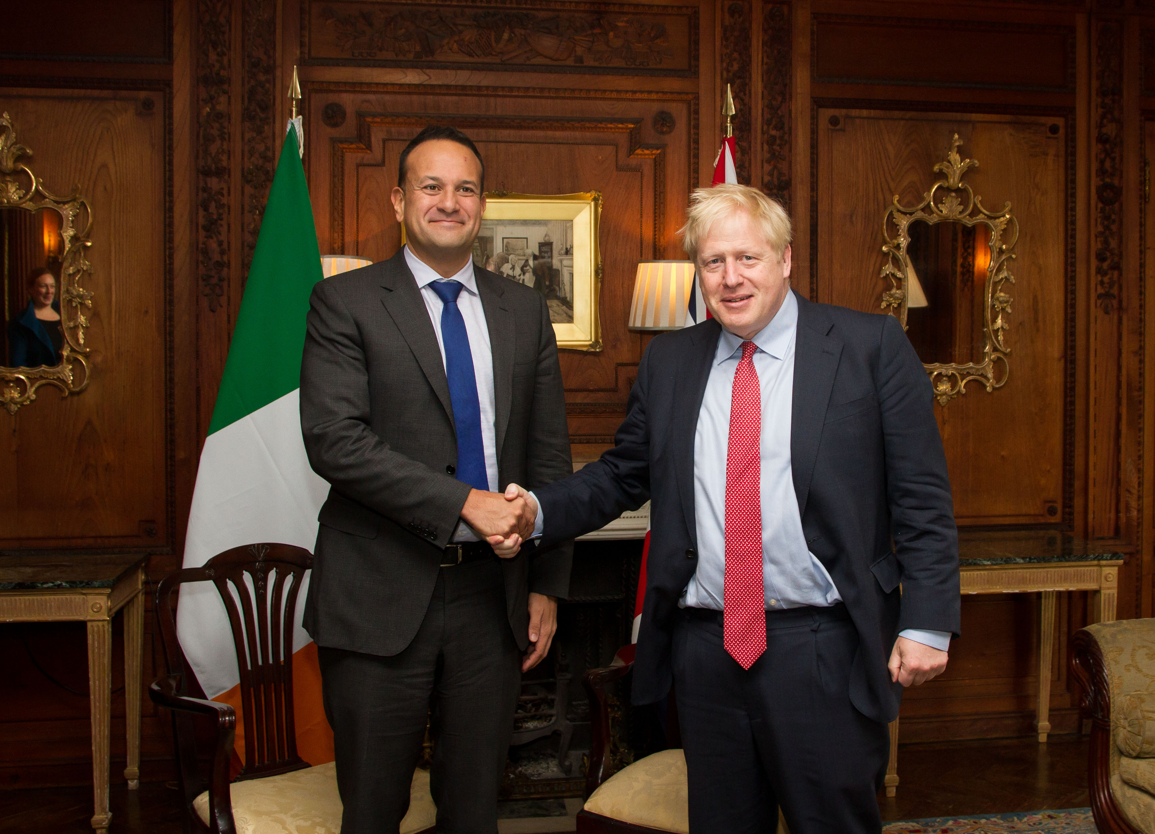 Taoiseach and PM of UK